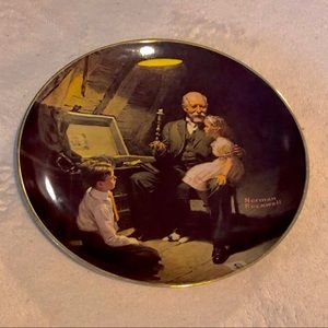 Norman Rockwell limited edition plate